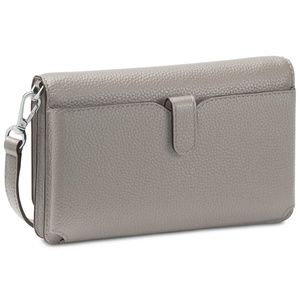 MICHAEL Michael Kors Bags - MICHAEL Michael Kors Pebbled Leather Silver-Tone
